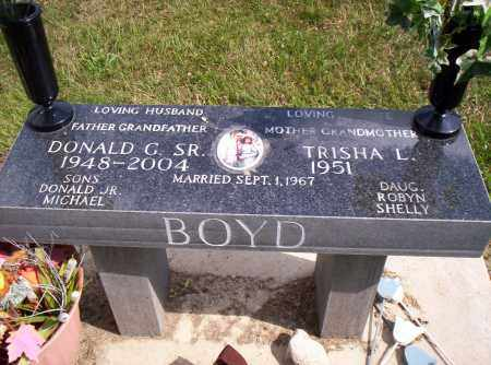 BOYD, DONALD G. - Shelby County, Ohio | DONALD G. BOYD - Ohio Gravestone Photos