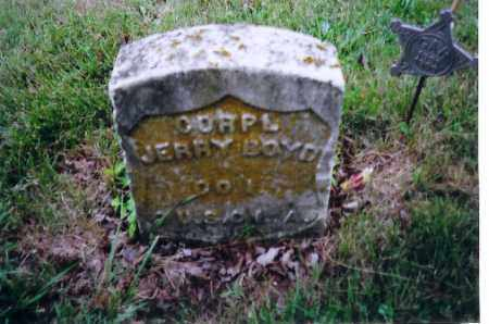 BOYD, JERRY - Shelby County, Ohio | JERRY BOYD - Ohio Gravestone Photos