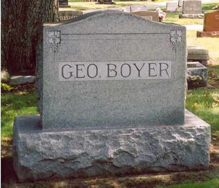 BOYER, GEORGE - Shelby County, Ohio | GEORGE BOYER - Ohio Gravestone Photos