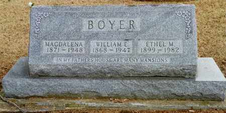 BOYER, MAGDALENA - Shelby County, Ohio | MAGDALENA BOYER - Ohio Gravestone Photos