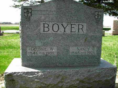 BLUE BOYER, NANCY - Shelby County, Ohio | NANCY BLUE BOYER - Ohio Gravestone Photos