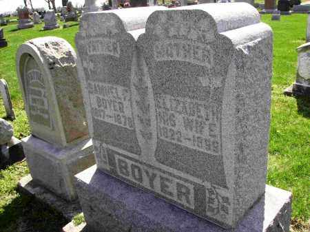 BOYER, SAMUEL FISCHER - Shelby County, Ohio | SAMUEL FISCHER BOYER - Ohio Gravestone Photos