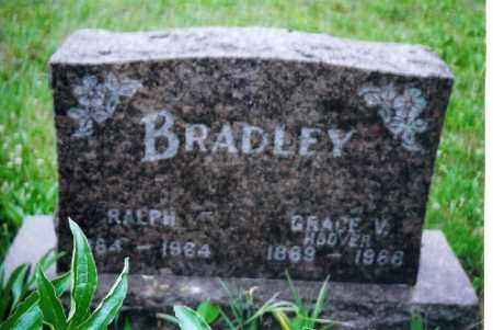 HOOVER BRADLEY, GRACE V. - Shelby County, Ohio | GRACE V. HOOVER BRADLEY - Ohio Gravestone Photos
