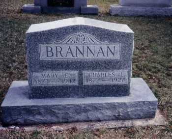 BRANNAN, CHARLES L. - Shelby County, Ohio | CHARLES L. BRANNAN - Ohio Gravestone Photos