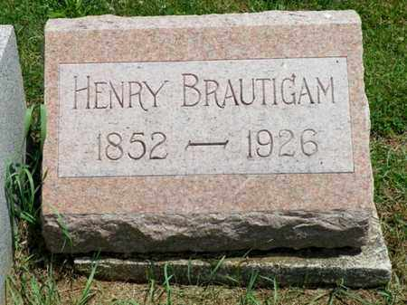 BRAUTIGAM, HENRY - Shelby County, Ohio | HENRY BRAUTIGAM - Ohio Gravestone Photos