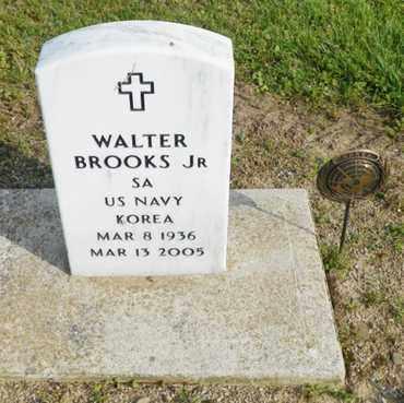 BROOKS, WALTER - Shelby County, Ohio | WALTER BROOKS - Ohio Gravestone Photos