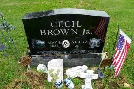 BROWN, CECIL - Shelby County, Ohio | CECIL BROWN - Ohio Gravestone Photos