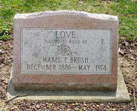 BRUSH, MABEL E. - Shelby County, Ohio | MABEL E. BRUSH - Ohio Gravestone Photos