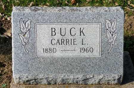 BUCK, CARRIE L. - Shelby County, Ohio   CARRIE L. BUCK - Ohio Gravestone Photos