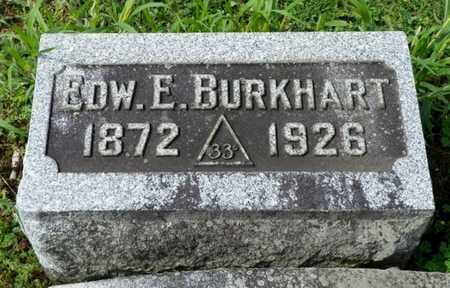BURKHART, EDWARD E. - Shelby County, Ohio | EDWARD E. BURKHART - Ohio Gravestone Photos