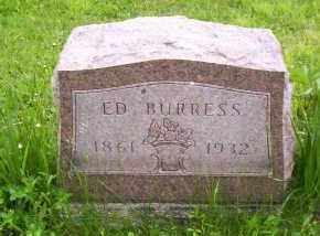 BURRESS, ED - Shelby County, Ohio | ED BURRESS - Ohio Gravestone Photos