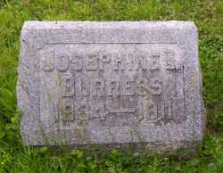 BURRESS, JOSEPHINE S. - Shelby County, Ohio | JOSEPHINE S. BURRESS - Ohio Gravestone Photos