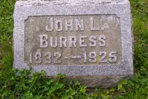 BURRESS, JOHN L. - Shelby County, Ohio | JOHN L. BURRESS - Ohio Gravestone Photos