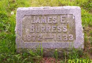 BURRESS, JAME E. - Shelby County, Ohio | JAME E. BURRESS - Ohio Gravestone Photos