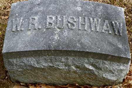 BUSHWAW, W. R. - Shelby County, Ohio | W. R. BUSHWAW - Ohio Gravestone Photos
