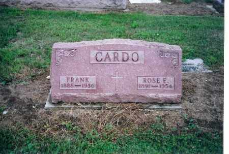 CARDO, ROSE E - Shelby County, Ohio | ROSE E CARDO - Ohio Gravestone Photos