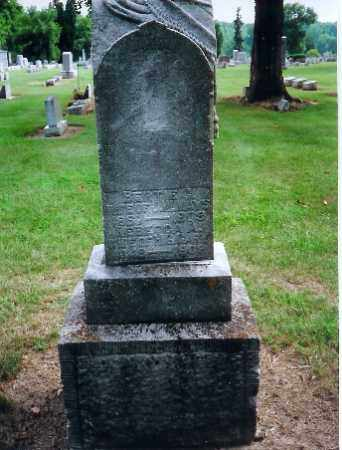 CAREY MAYS, BERTIE - Shelby County, Ohio | BERTIE CAREY MAYS - Ohio Gravestone Photos