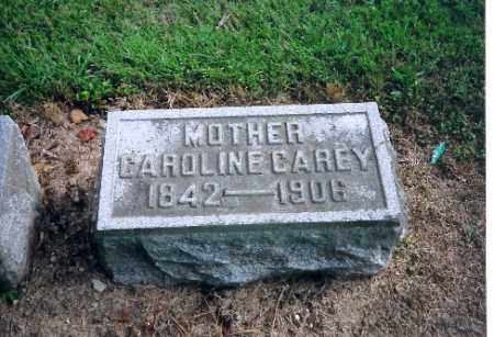 CAREY, CAROLINE - Shelby County, Ohio | CAROLINE CAREY - Ohio Gravestone Photos