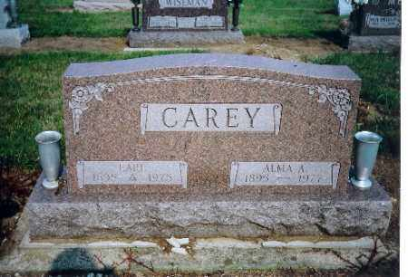 HOWELL CAREY, ALMA A. - Shelby County, Ohio | ALMA A. HOWELL CAREY - Ohio Gravestone Photos
