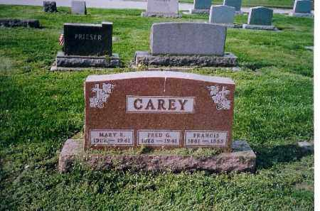 CAREY, FRED G. - Shelby County, Ohio | FRED G. CAREY - Ohio Gravestone Photos