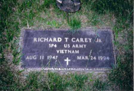CAREY JR., RICHARD T - Shelby County, Ohio | RICHARD T CAREY JR. - Ohio Gravestone Photos