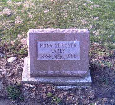 CAREY, NONA - Shelby County, Ohio | NONA CAREY - Ohio Gravestone Photos