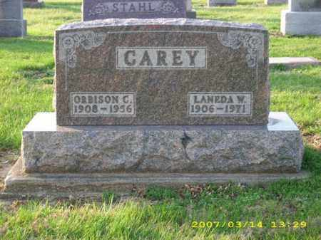 CAREY, LANEDA W - Shelby County, Ohio | LANEDA W CAREY - Ohio Gravestone Photos