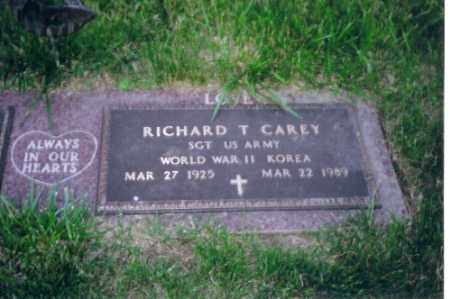 CAREY, RICHARD T. - Shelby County, Ohio | RICHARD T. CAREY - Ohio Gravestone Photos