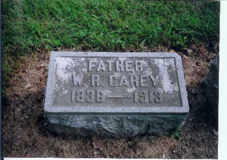 CAREY, W R - Shelby County, Ohio | W R CAREY - Ohio Gravestone Photos