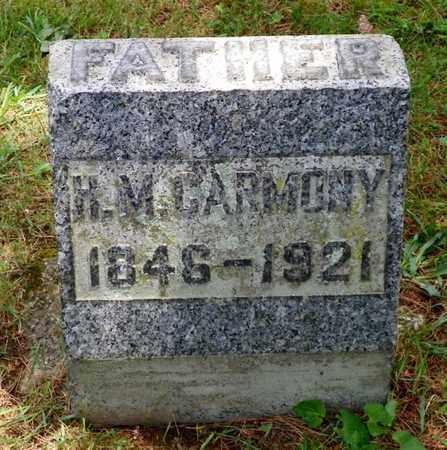 CARMONY, H. M. - Shelby County, Ohio | H. M. CARMONY - Ohio Gravestone Photos