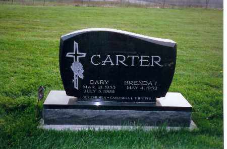 CARTER, GARY - Shelby County, Ohio | GARY CARTER - Ohio Gravestone Photos