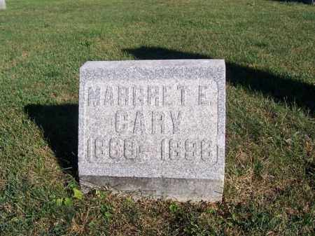 CARY, MARGARET E - Shelby County, Ohio | MARGARET E CARY - Ohio Gravestone Photos