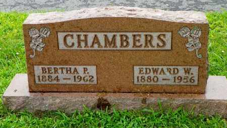 CHAMBERS, EDWARD W. - Shelby County, Ohio | EDWARD W. CHAMBERS - Ohio Gravestone Photos