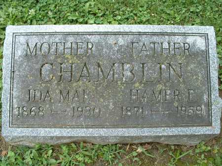 CHAMBLIN, HAMER - Shelby County, Ohio | HAMER CHAMBLIN - Ohio Gravestone Photos