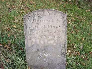 CLAWSON, FREDRICK - Shelby County, Ohio | FREDRICK CLAWSON - Ohio Gravestone Photos