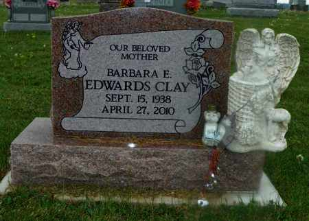 EDWARDS CLAY, BARBARA E. - Shelby County, Ohio | BARBARA E. EDWARDS CLAY - Ohio Gravestone Photos