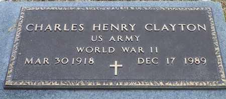 CLAYTON, CHARLES HENRY - Shelby County, Ohio | CHARLES HENRY CLAYTON - Ohio Gravestone Photos