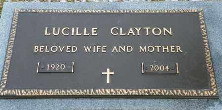 CLAYTON, LUCILLE - Shelby County, Ohio | LUCILLE CLAYTON - Ohio Gravestone Photos