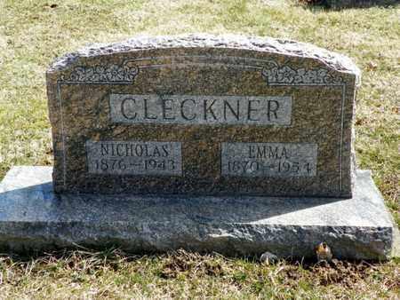 CLECKNER, NICHOLAS - Shelby County, Ohio | NICHOLAS CLECKNER - Ohio Gravestone Photos