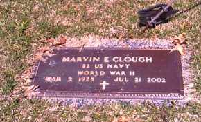 CLOUGH, MARVIN E. - Shelby County, Ohio | MARVIN E. CLOUGH - Ohio Gravestone Photos