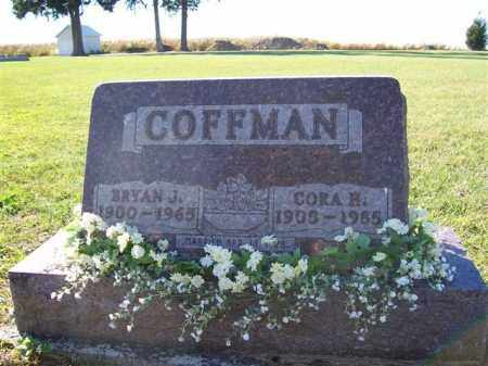 COFFMAN, BRYON J - Shelby County, Ohio | BRYON J COFFMAN - Ohio Gravestone Photos