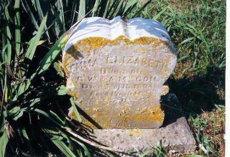 COIL, EMMA ELIZABETH - Shelby County, Ohio | EMMA ELIZABETH COIL - Ohio Gravestone Photos