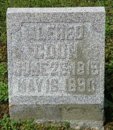 COON, ALFRED - Shelby County, Ohio | ALFRED COON - Ohio Gravestone Photos