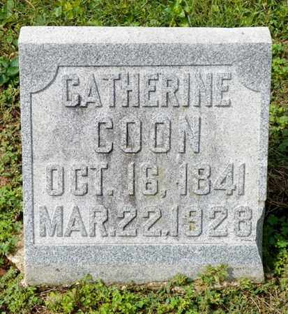 COON, CATHERINE - Shelby County, Ohio | CATHERINE COON - Ohio Gravestone Photos