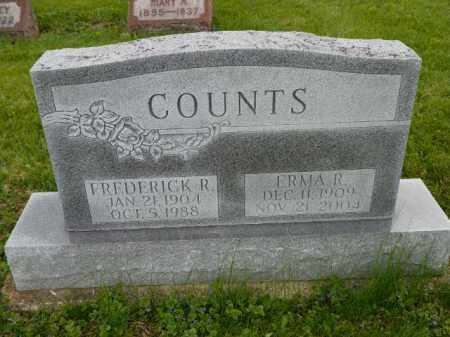 COUNTS, FREDERICK R. - Shelby County, Ohio | FREDERICK R. COUNTS - Ohio Gravestone Photos