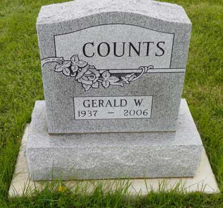 COUNTS, GERALD W. - Shelby County, Ohio | GERALD W. COUNTS - Ohio Gravestone Photos