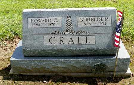 CRALL, HOWARD C. - Shelby County, Ohio | HOWARD C. CRALL - Ohio Gravestone Photos