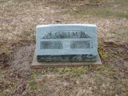 CRIM, JOESPH - Shelby County, Ohio | JOESPH CRIM - Ohio Gravestone Photos