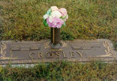 CROSLEY, TREVA L - Shelby County, Ohio | TREVA L CROSLEY - Ohio Gravestone Photos