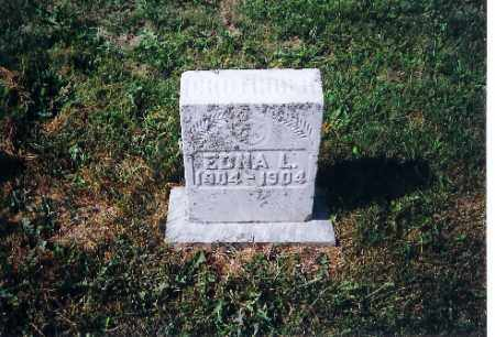 CROTINGER, EDNA L - Shelby County, Ohio | EDNA L CROTINGER - Ohio Gravestone Photos